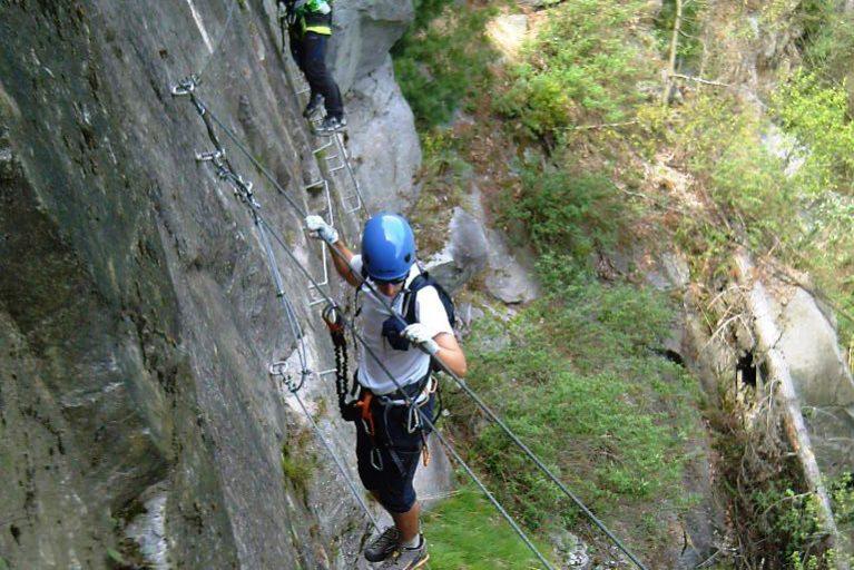 Escursioni in arrampicata